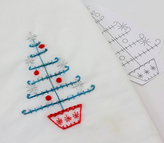 Embroidery Design Scandinavian Art Christmas Embroidery Etsy