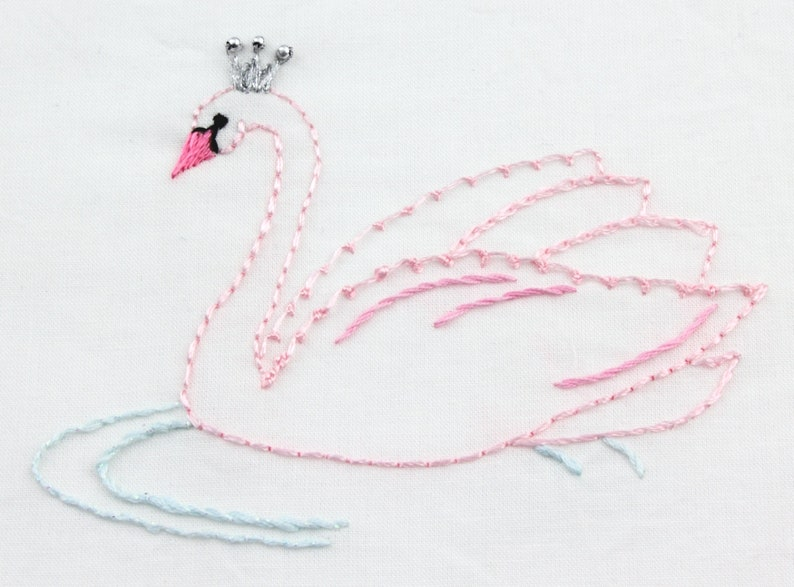 Ballerina embroidery pattern hand embroidery ballet design image 0