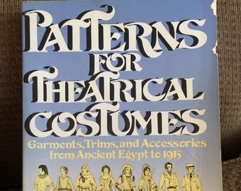 Pattern Book for Period Costumes