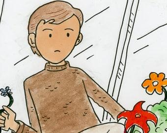 Justice - illustration inspired by Star Trek TNG