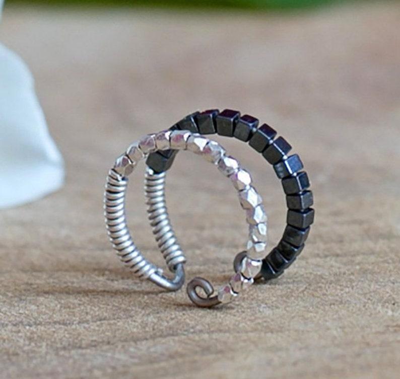 e7e40787536 Bague d oreille manchette helix anneaux de cartilage pour