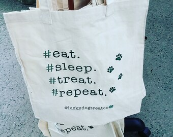 NEW Lucky Dog Signature Tote Bags