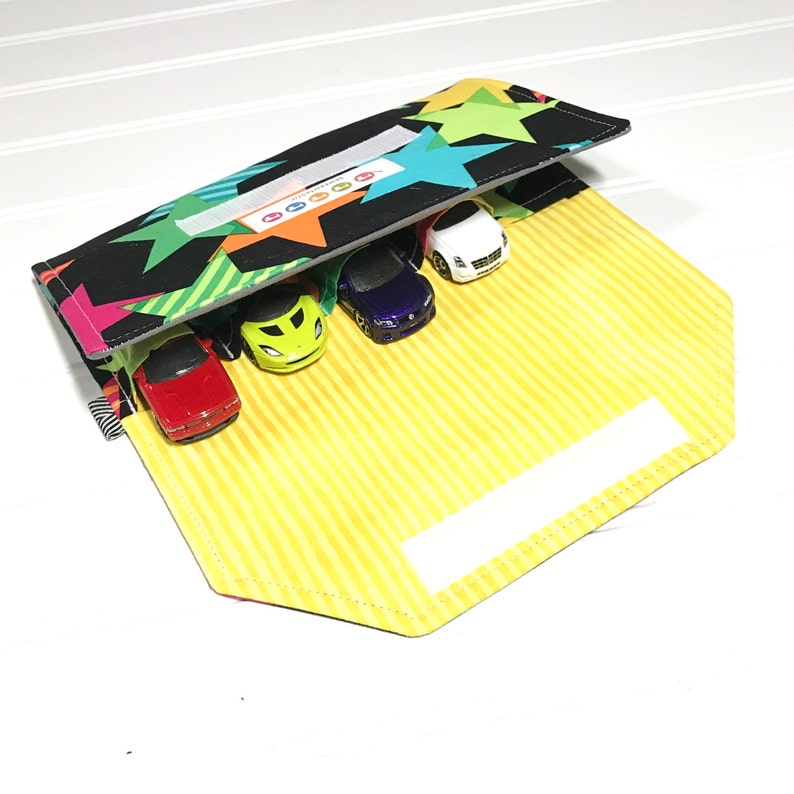 Car organizer Kids travel wallet Gift for kids Toy car Toy car wallet Quiet toy gift for kids READY TO SHIP Washable toy Travel toy