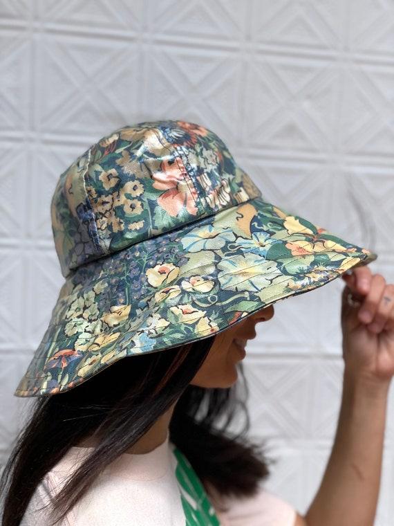 vintage Liberty of London bucket hat / floppy flor