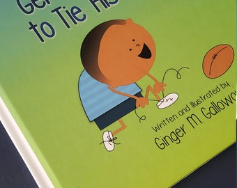 Gerald Learned to Tie His Shoes (paperback) - Picture Book - Family Values - LOViE Beans - AG Publishing