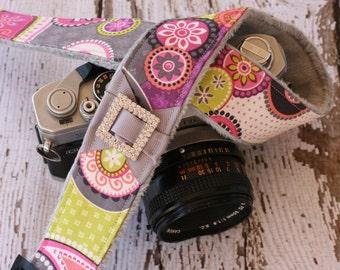 Paisley Camera Strap. Camera Strap. dSLR Camera Strap. Camera Neck Strap. Cute Camera Strap. Padded Camera Strap