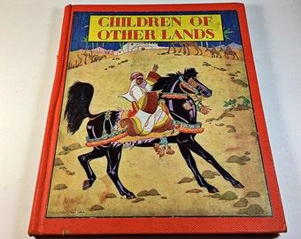 Children of Other Lands Book vintage Watty Piper stories