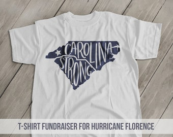 63e4f0947 Hurricane FLORENCE Relief T-shirts Fundraiser Foundation for the Carolinas  Hurricane Florence relief
