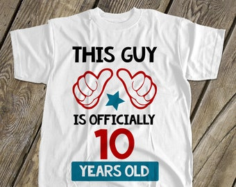 10th Birthday Shirt