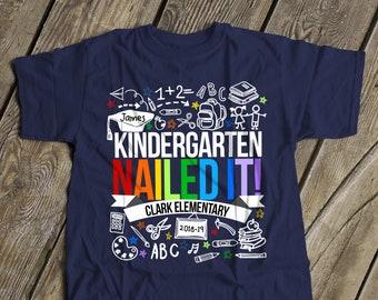 f2b87f3202c Kindergarten graduation shirt