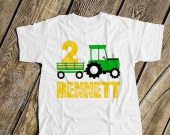 Little Oliver Tractor Driver Baby Boys Short Sleeve Cotton T-Shirts Funny Toddler Infant Kids Casual Tee
