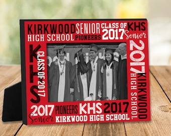 Graduation gift - personalized school class photo frame MFG-002