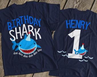 Birthday Baby Shark Shirt