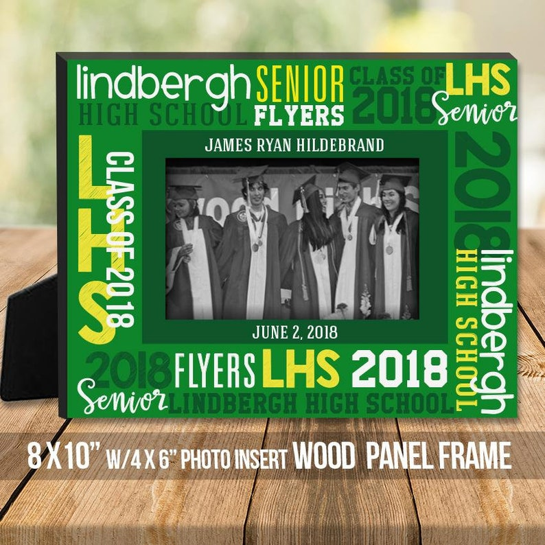 personalized graduation picture frame gift  MFG-002-frm custom school graduate gift Graduation photo frame