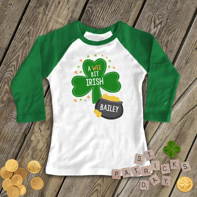 8285981e Kids st patricks day shirts funny personalized st | Etsy