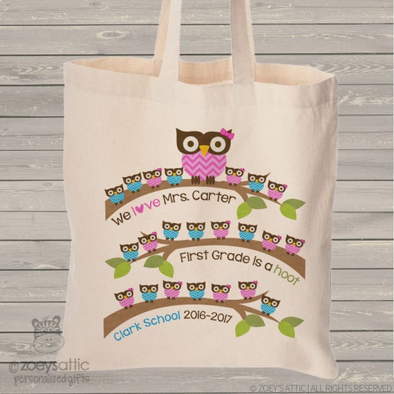 Personalized Teacher Tote Bag End of Year Gift Teacher Appreciation Gift Funny Teacher Tote Bag Does This Bag Make My Papers Look Graded