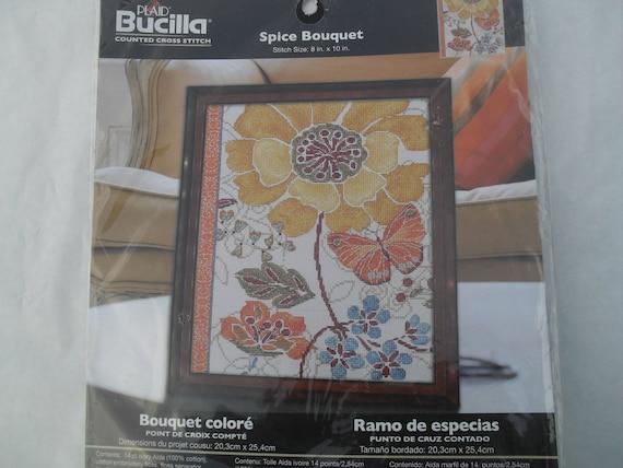 Bucilla Spice Bouquet kit 45817