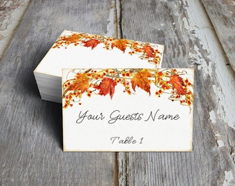 Table place cards | Etsy