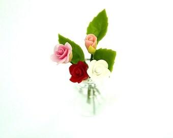 Mini Flower Bouquet Etsy