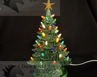 popular items for ceramic christmas tree