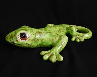 Large Pistacio Green Gecko - Wall Hanging - Garden Decor - Home Decor
