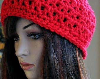 Cherry Red Hat - Large