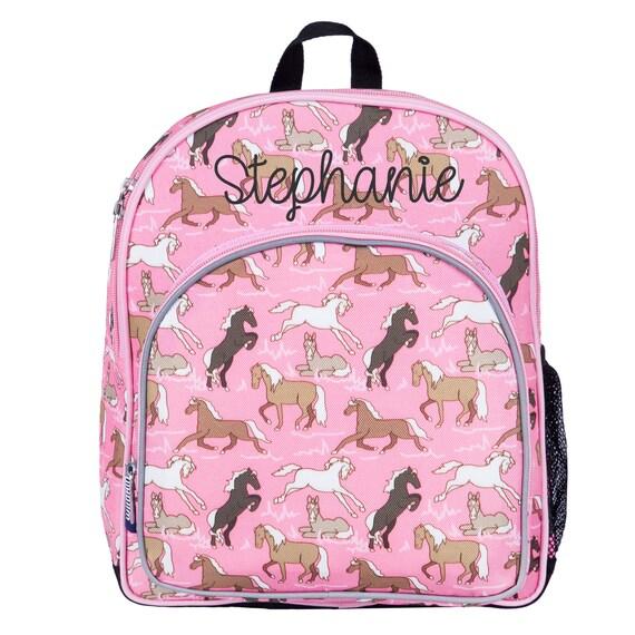 Pony School Bag Wildkin Pink Horses Toddler Bacpacks Horses Girls Backpack