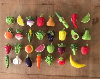 Vegetable Knobs, Fruit Knobs, Drawer Pulls, Kitchen Cabinet Knob, Kitchen Hardware, Fruit and Vegetable, Garden Knob, Kitchen Renovation