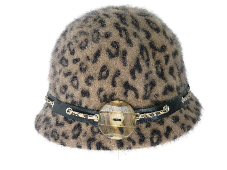 5dc1c839ecef9 Women's Angora Cloche Hat Warm Hat Winter Hat Girls   Etsy