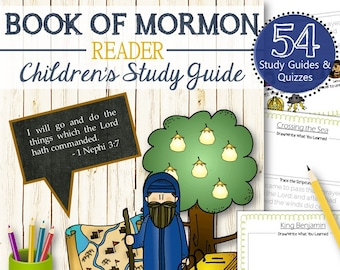 Book of Mormon Reader Study Guide - INSTANT DOWNLOAD