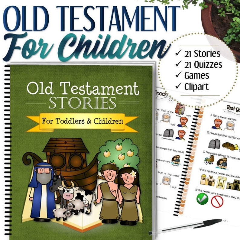 Complete Old Testament Stories For Toddlers and Children  image 0