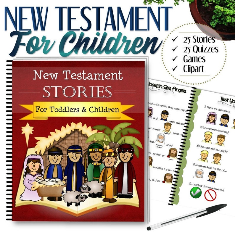 Complete New Testament Stories For Toddlers and Children  image 0