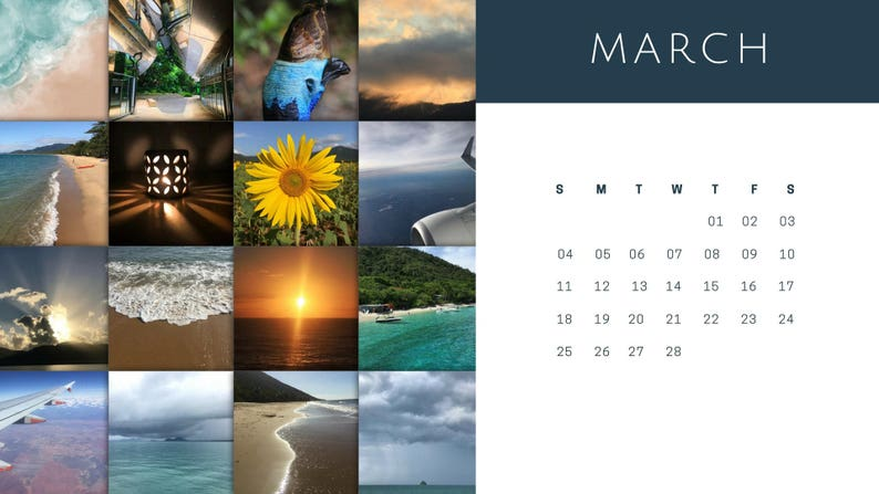 Astonishing Computer Desktop Photography Calendar March 2018 Photo Nature Wallpaper Calendar Sunflower Ocean Plane Download Free Architecture Designs Xoliawazosbritishbridgeorg