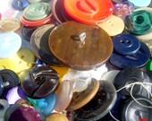 Vintage / Antique Plastic Button Lot of Unique Ones