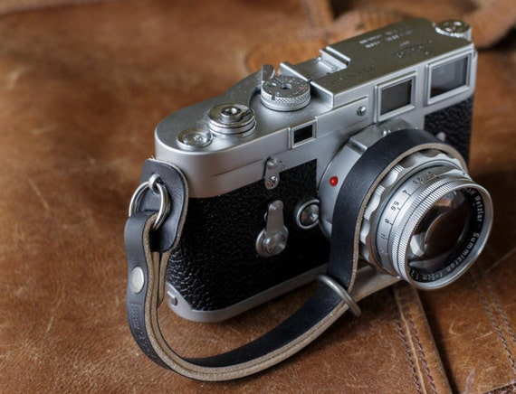 New Cotton Blended Hand Wrist Strap For Canon Nikon Sony Leica DSLR SLR Camera