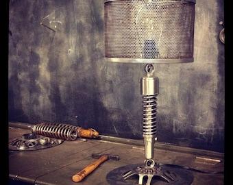 Custom Metal Mesh Table Lamp Shade