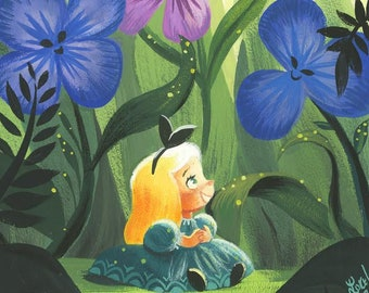 Alice springs etsy alice talking to flowers mightylinksfo