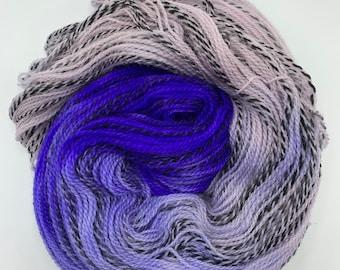 highland wool fingering - violet fade
