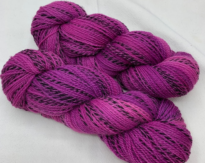 highland wool fingering - orchid