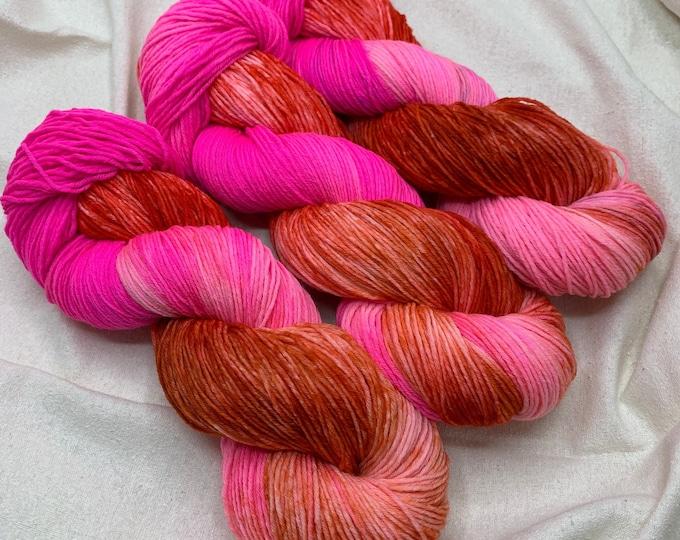 OOAK Purpose - hot pink, orange, red