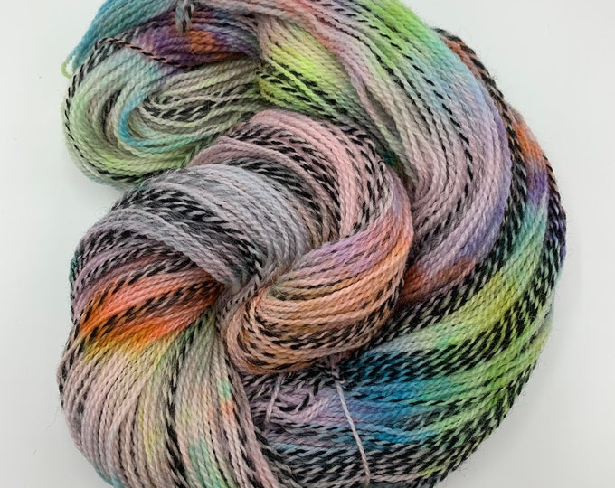 highland wool fingering - confetti