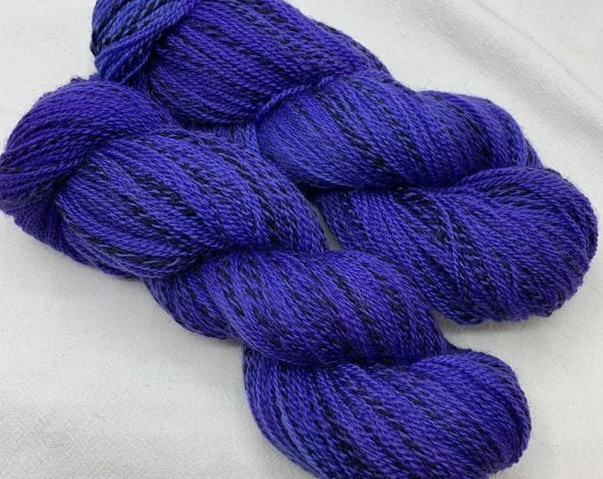 highland wool fingering - violet