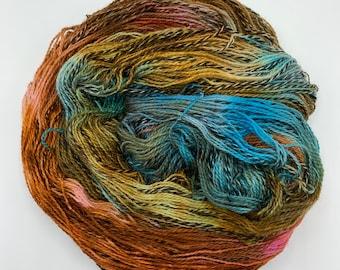 highland wool fingering - earth, fire, water