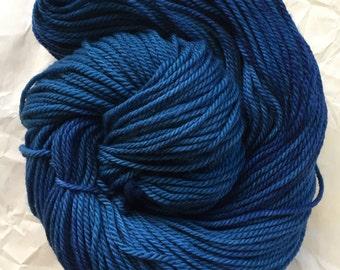 merino aran - vintage blue