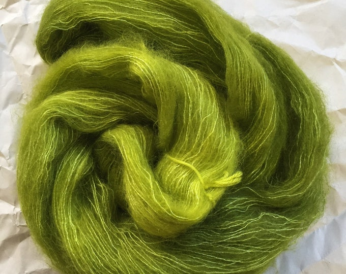 WOLKE mohair/silk laceweight - antidote
