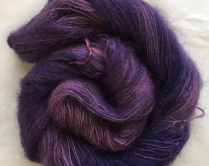 WOLKE mohair/silk laceweight - elderberry