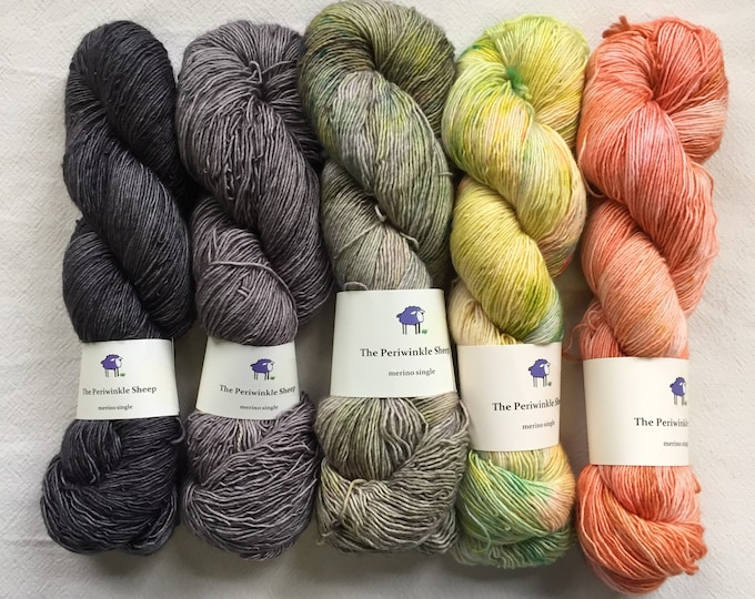SALE merino single - gradient kit - slate