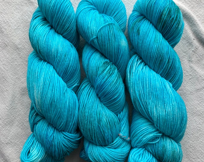 watercolors limited edition - turquoise teal speckle