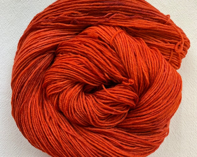 SALE - Purpose - OOAK reddish orange