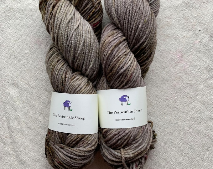 merino worsted - neutrals with a chance of speckles - batch 1
